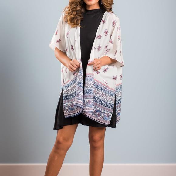 Bohemian Paisley Kimono from Mint Julep Boutique